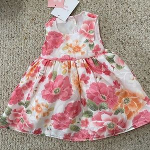 Petite Frais 9 month floral dress